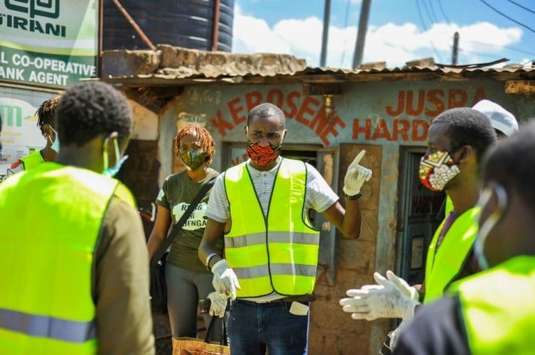 Youth-led COVID 19 Food Drive Response in Informal Settlements in Kenya